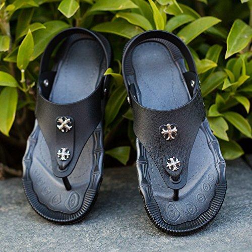 - Le Pantofole, Estate Impermeabili, La Spiaggia Di Moda Le Scarpe Di Colore: Nero, Cachi,Black,Eu41
