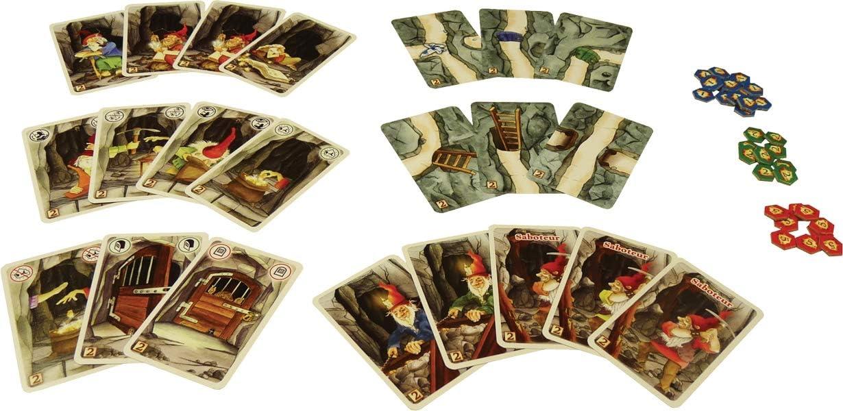 999Games Saboteur: De Uitbreiding - Juego de Tablero (Multi): Amazon.es: Juguetes y juegos