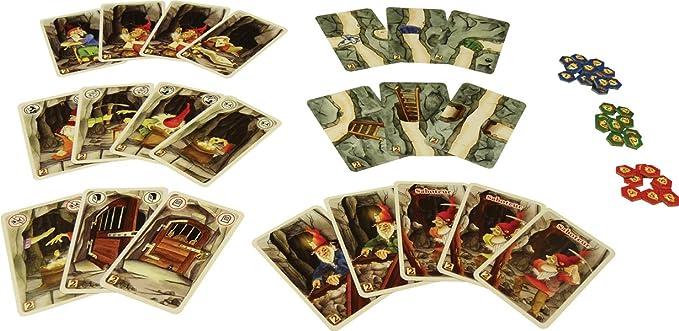 999 Games Saboteur: De Uitbreiding - Juego de Tablero (Multi ...