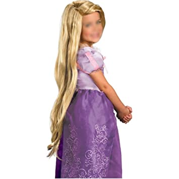 TOOGOO(R) Rapunzel Custom Styled Blond Cosplay Wig (Child)