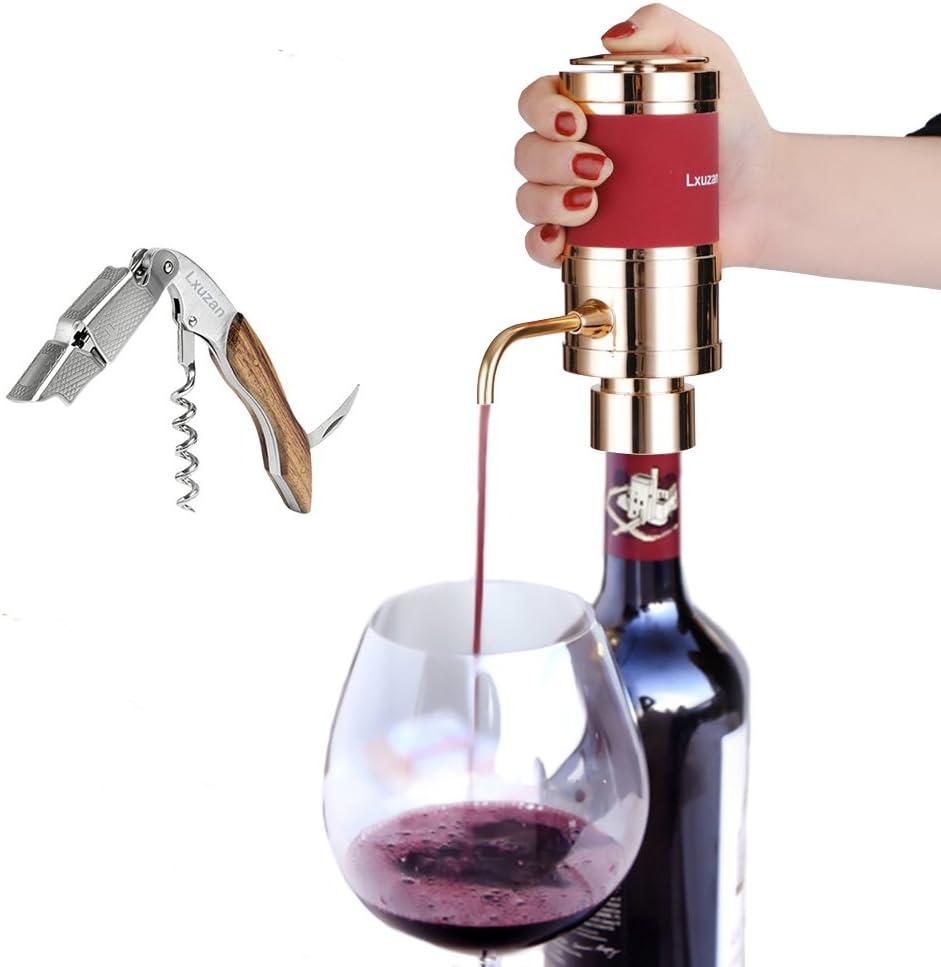 lxuzan eléctrica aireador de vino dispensador herramienta aire a ...
