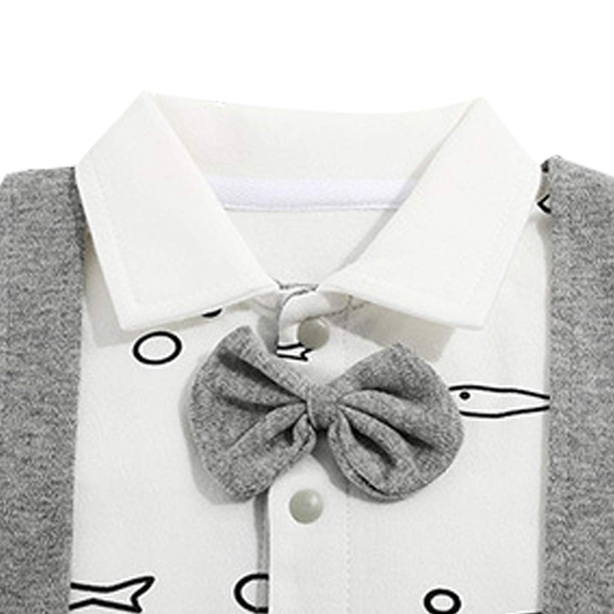 Kanodan Baby Junge Strampler Langarm Babykleidung Winter Overall
