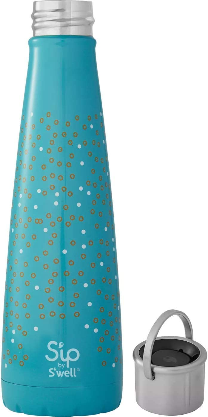 Sip by Swell Vacuum Insulated Stainless Steel Water Bottle 15oz Bubble Up