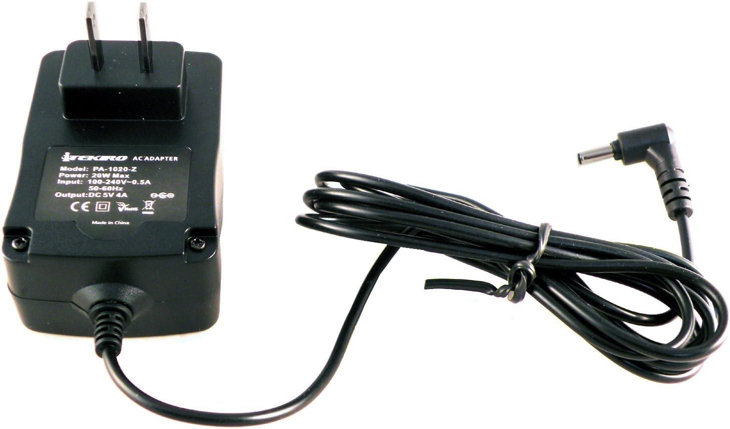 iTEKIRO 5V 4A 20W 6.5 Ft Extra Long Cord AC Wall Charger for Lenovo Ideapad 100S 11.6