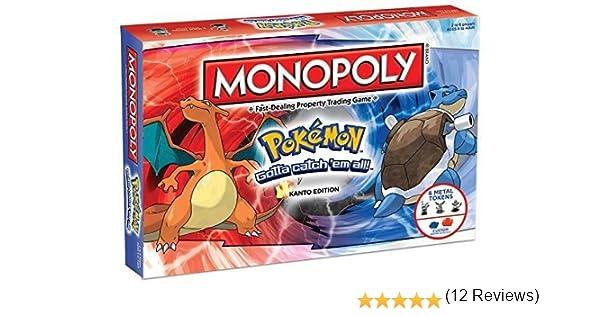 Pokemon Monopoly Board Game by BBCW: Amazon.es: Juguetes y juegos