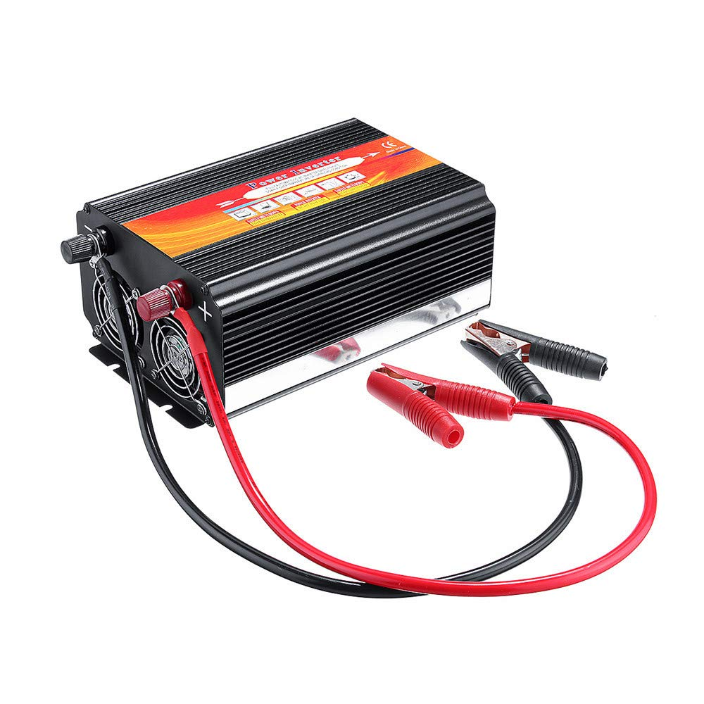 Alelife 8000W Car Power Inverter 12/24V to 110/220V Sine Wave Converter with Blade Fuses 2pcs Blade Fuses Overload Protection, Overheat Protection by Alelife (Image #2)