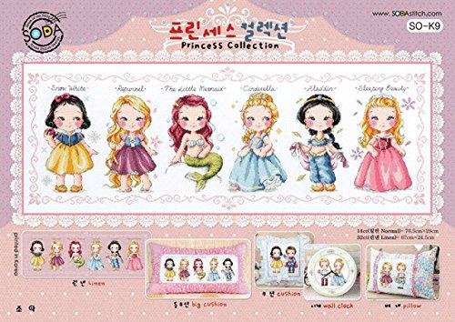 SO-K9 Princess Collection, SODA Cross Stitch Pattern leaflet