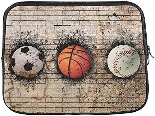 D Baloncesto Béisbol Balón de fútbol incrustado en la Funda de ...
