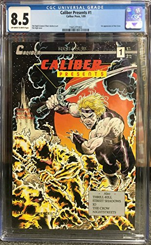 Caliber Presents (1989) #1 CGC 8.5 1st appearance the Crow (1565371002)