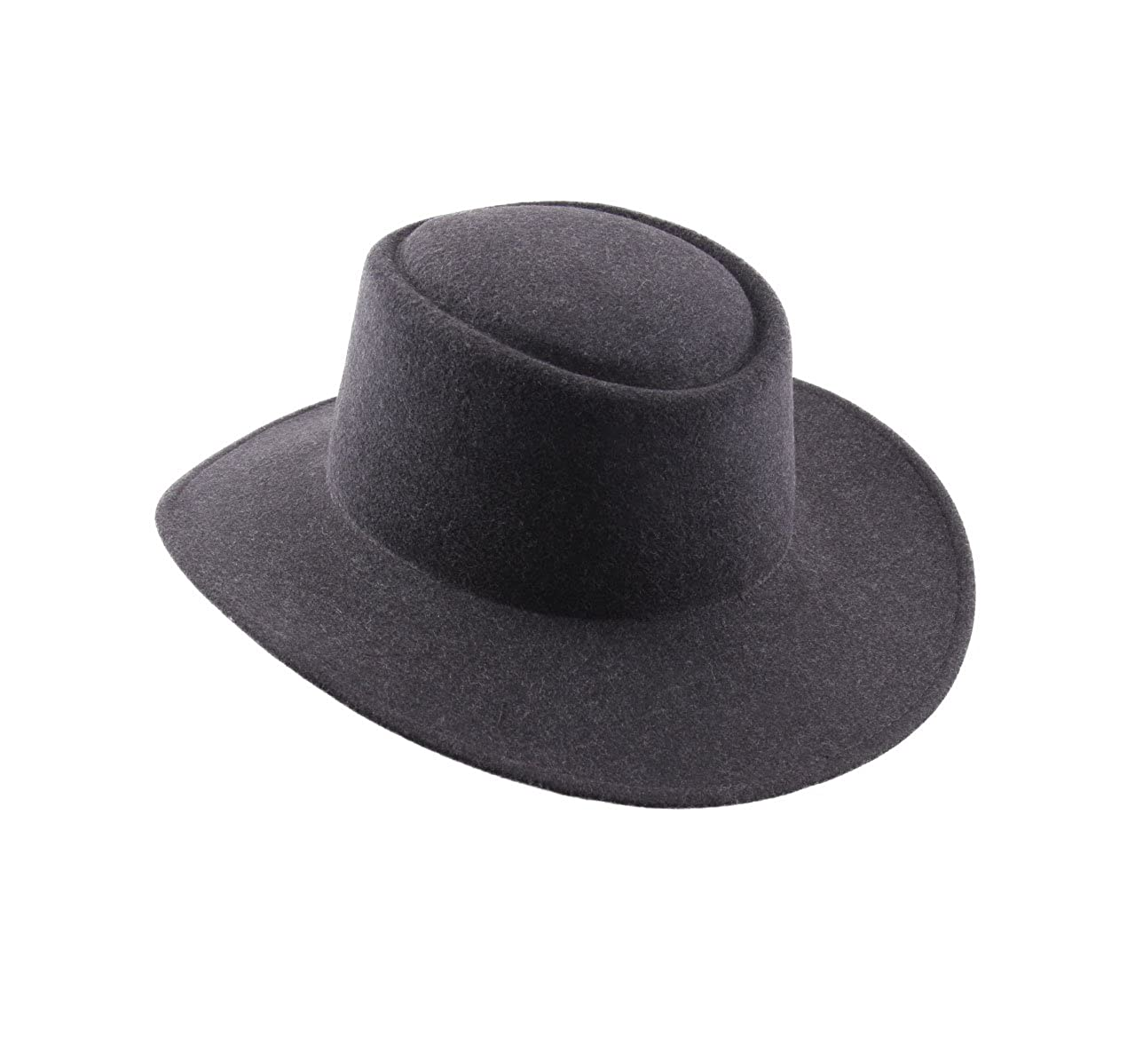 53a47e792f7 Classic Italy Nude Cordobes Wool Felt Fedora Hat at Amazon Men s Clothing  store