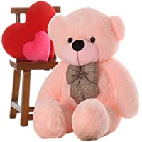 OSJS 4 Feet Big Teddy Bear Pink 121 cm