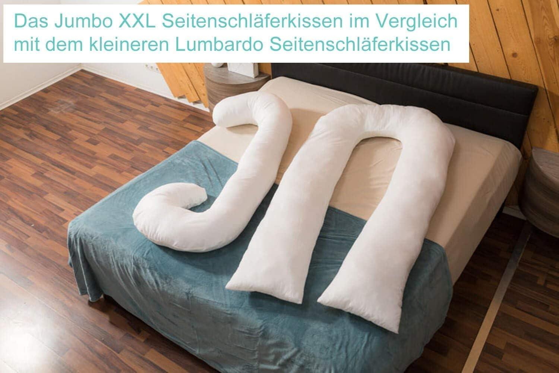 Traumreiter Jumbo XXL Seitenschl/äferkissen mit Bezug blei-grau I Schwangerschaftskissen U Form Full Body Pillow Seitenschl/äfer Kissen f/ür Schwangere Lagerungskissen