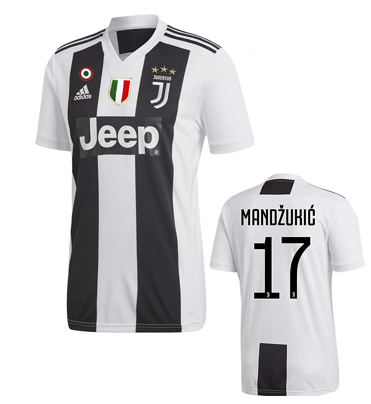 finest selection 410a1 b0af4 Amazon.com: Juventus Mandzukic Home Jersey 2018/19 Original ...