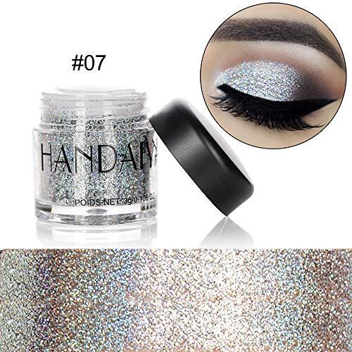 himmer Glitter Eye Shadow Powder Palette Matte Eyeshadow Cosmetic Makeup (G) ()