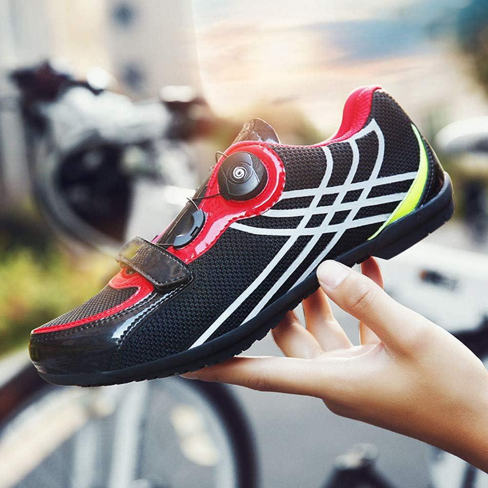 LY CROWM Zapatillas de Ciclismo de Carretera para Adultos Unisex ...