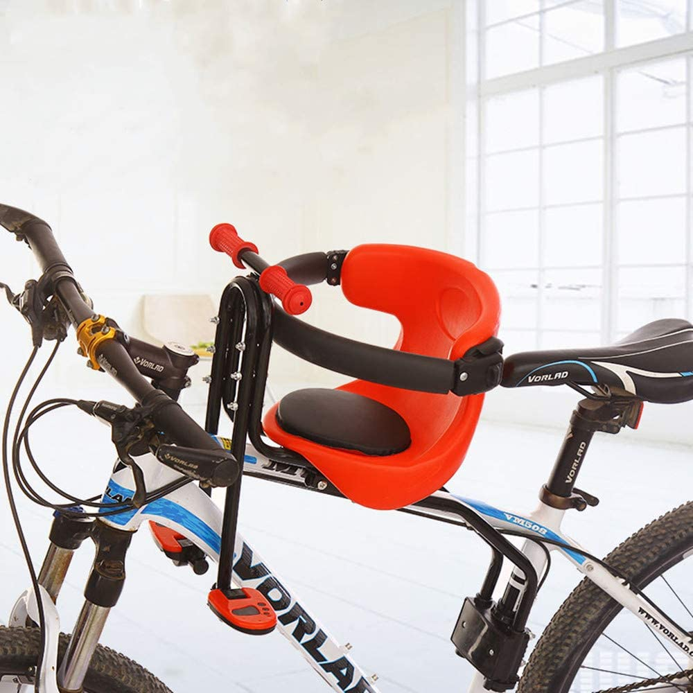 child bicycle safety seat baby carrier saddle pad Child front bicycle seat