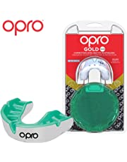 OPRO Gold Level Mouthguard Gum Shield for Rugby, Hockey And Other Contact and Combat Sports