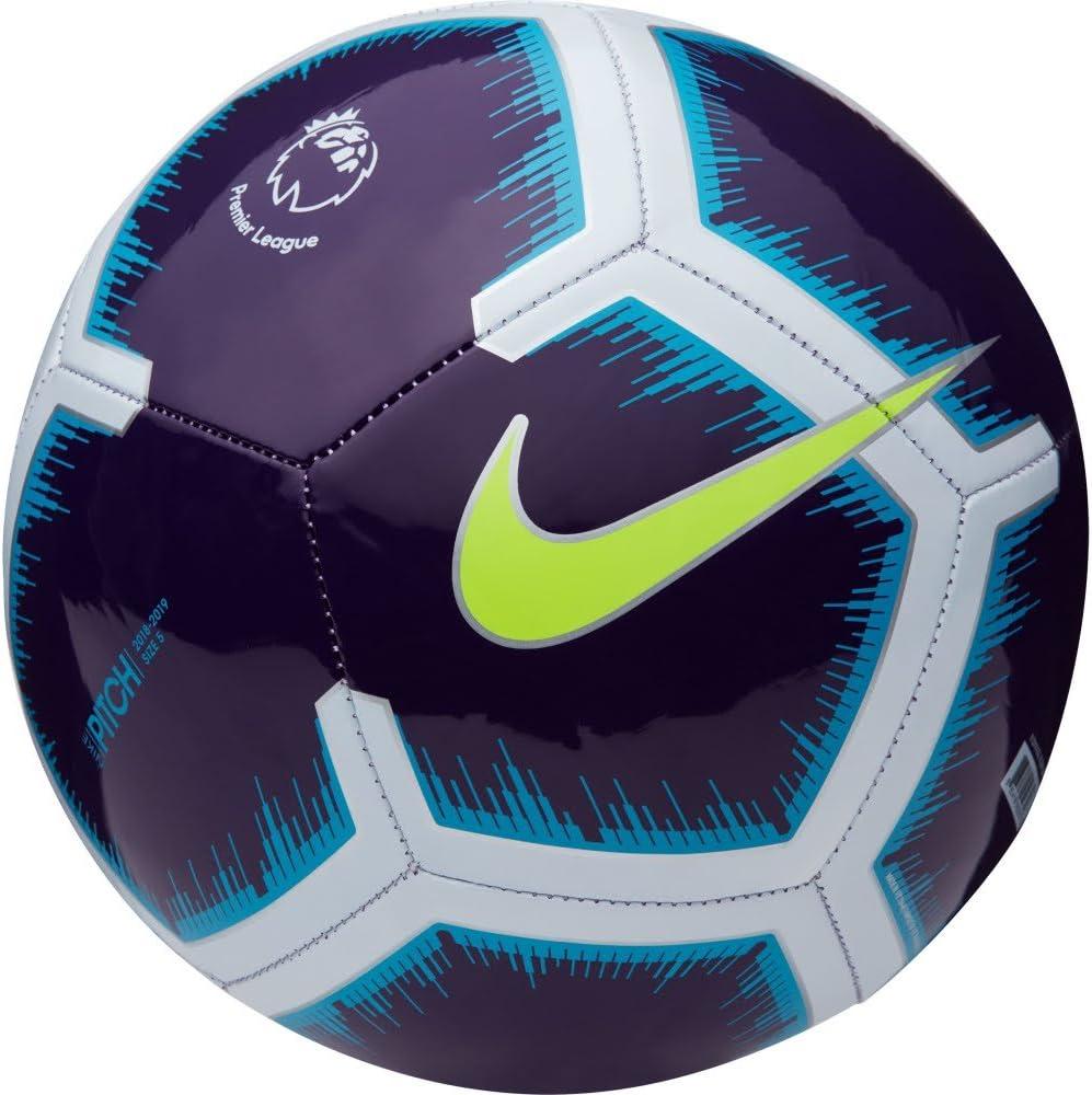 Nike Pitch Premier League 18/19 Football Purple/Volt Size 5 ...