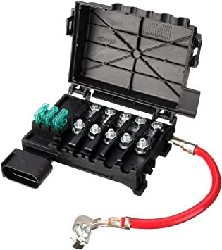 vw bug 2001 engine fuse box free image about amazon com new fuse box for vw beetle golf jetta 1j0937617d  amazon com new fuse box for vw beetle