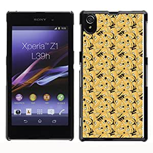 ZECASE Funda Carcasa Tapa Case Cover Para Sony Xperia Z1 L39H No.0002830