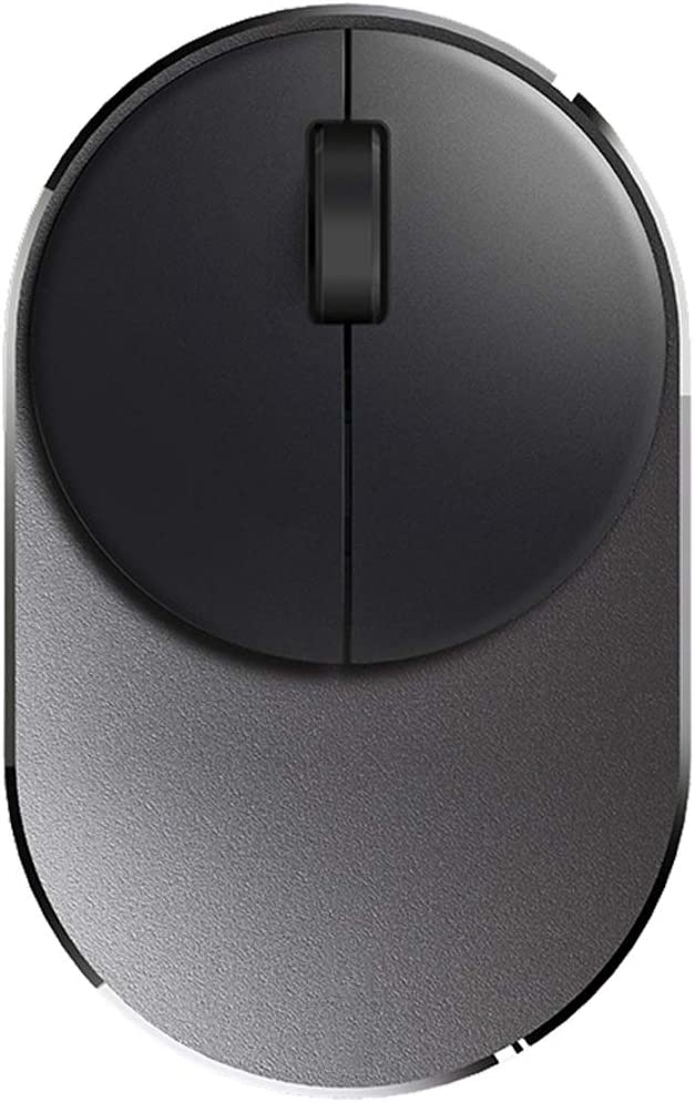 Haodan electronics Mouse Bluetooth Multi-Mode Wireless Mouse Mute Mouse Input Devices Color : Black, Size : L-734622mm