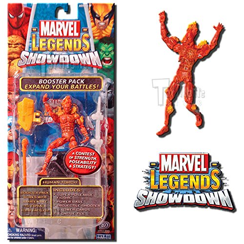 Marvel Human Torch Legends Showdown Series 2 Action Figure Booster Pack