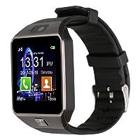 Padgene DZ09Reloj Inteligente Bluetooth con cámara para Samsung S5/Note 2/3/4, Nexus 6, HTC, Sony y Otros Smartphones Android