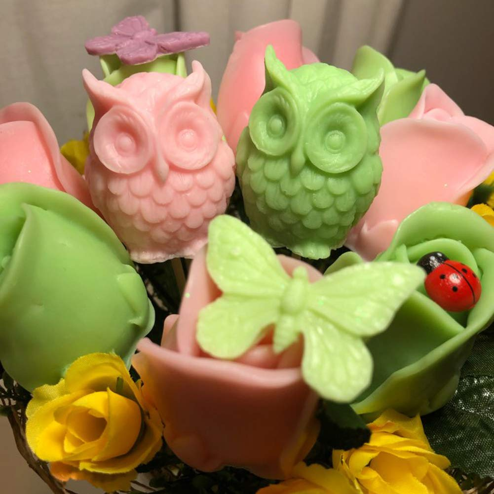 3D Silicone Fondant Soap Mold Chocolate Cake Candle DIY Baking Sugarcraft Mould