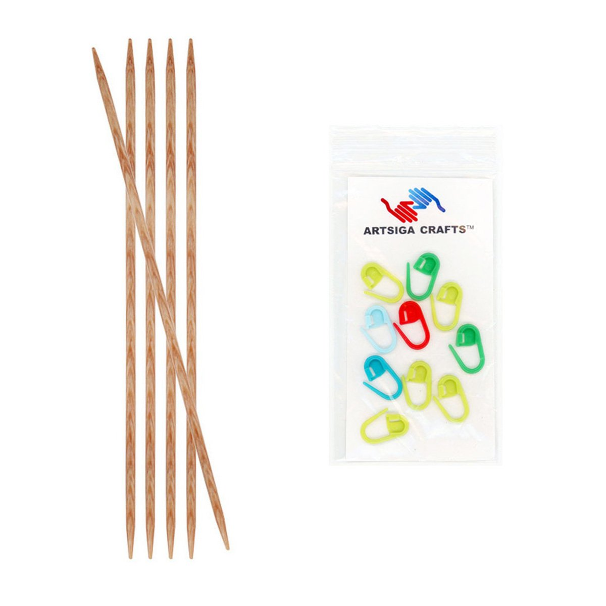 Knitter/'s Pride Naturalz Interchangeable Needles-Size 10.75//7mm