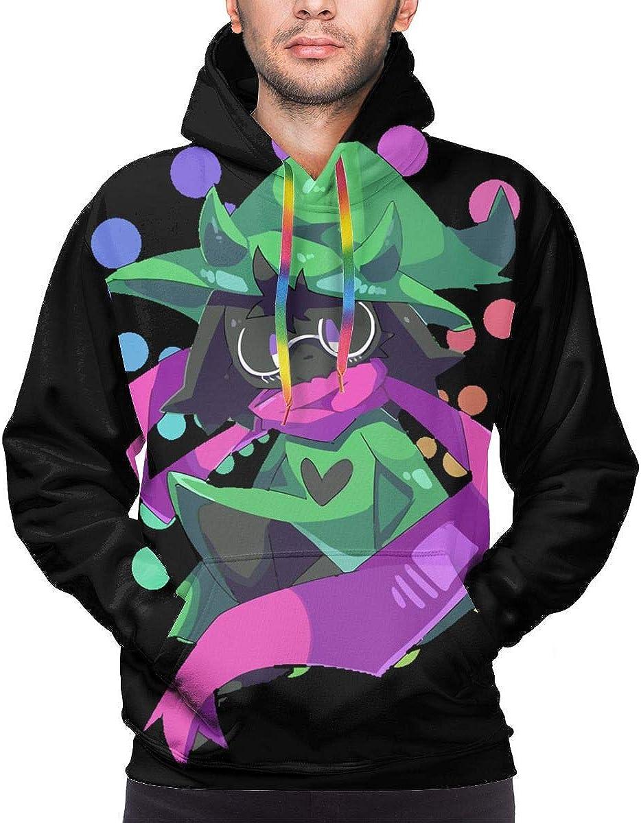 LEOUMAOYE Deltarune Ralsei Mens 3D All Print Hooded Sweatshirt