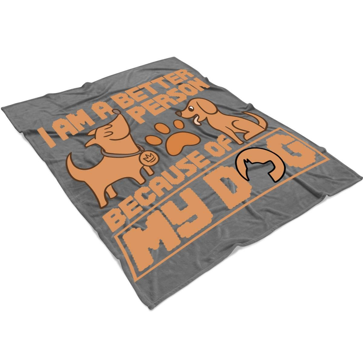 Amazon.com: TUCSTORE I Love Dog Blanket for Bed and Couch ...