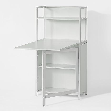 Sobuy 30 Fwt12 W Table Pliante Armoire Avec Table Pliable Intégrée