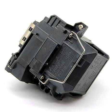 Aimple - Lámpara de Repuesto para proyector Epson ELPLP58 EB-S10 ...