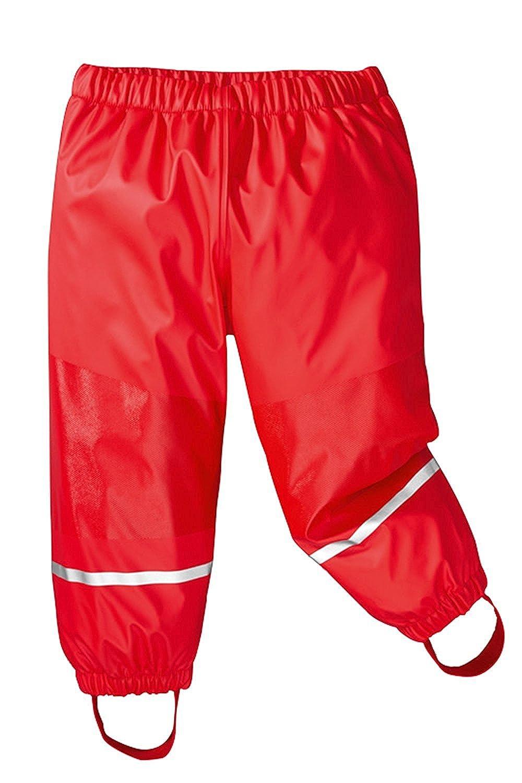Axoe Pantalon de Pluie Enfants Imperméable Coupe-Vent avec Doublure en Polaire Pantalons pour enfants A001