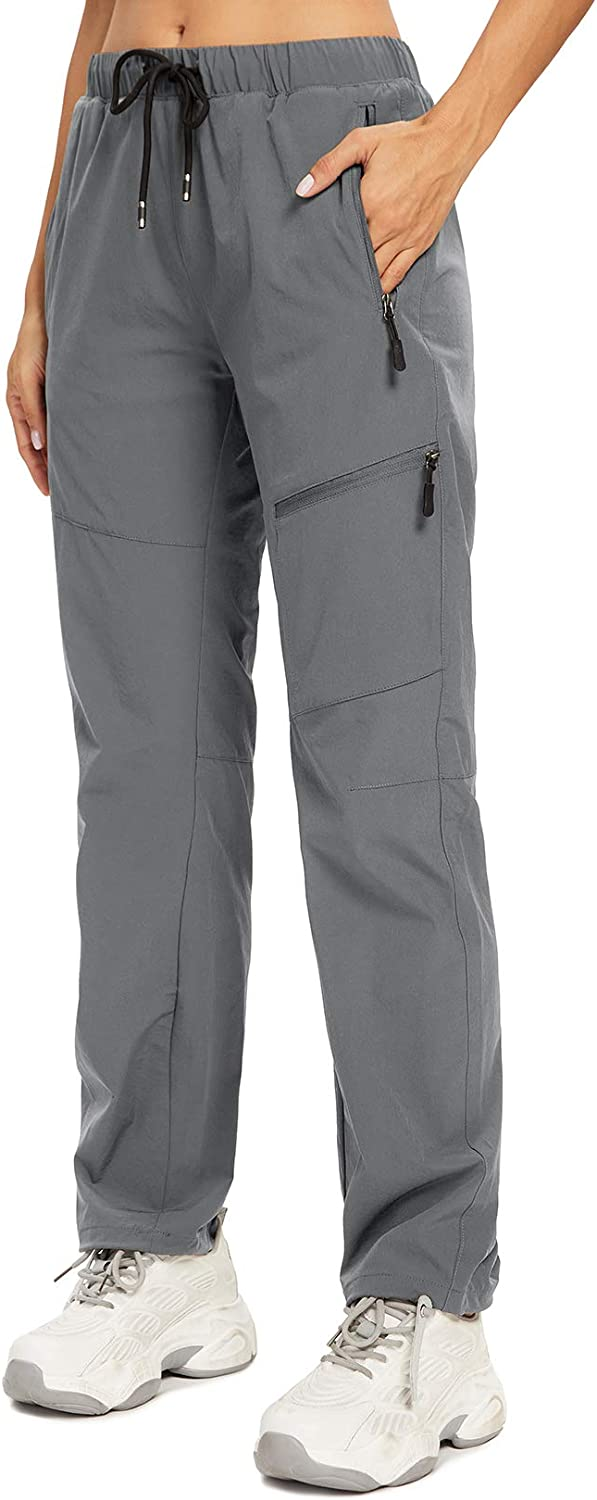 Pants Women Hiking Capri Cargo Lightweigh Dry with Pockets Joggers Summer Loose waterresistant Sweatpants