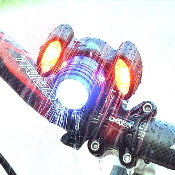 TABN Bicicleta De Deslumbramiento De Conducción Nocturna, Carga ...