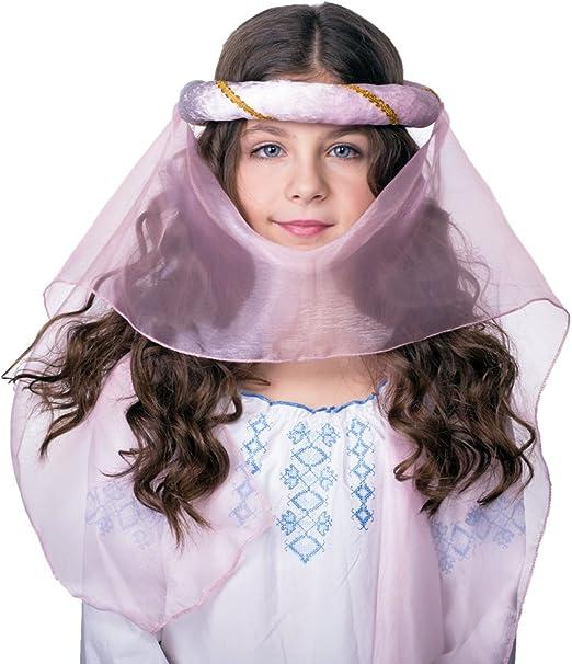 Tocado con banda para disfraz medieval infantil: Amazon.es: Ropa y ...