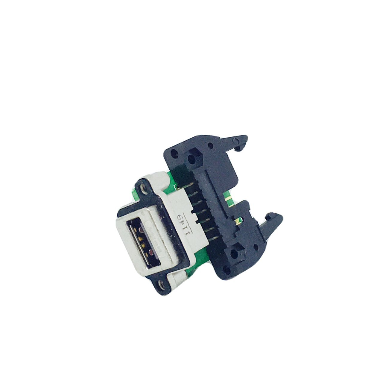 MUSB-A211-30 Amphenol Corporation 4 Position Single Port Socket Right Angle Type A Panel Mount USB