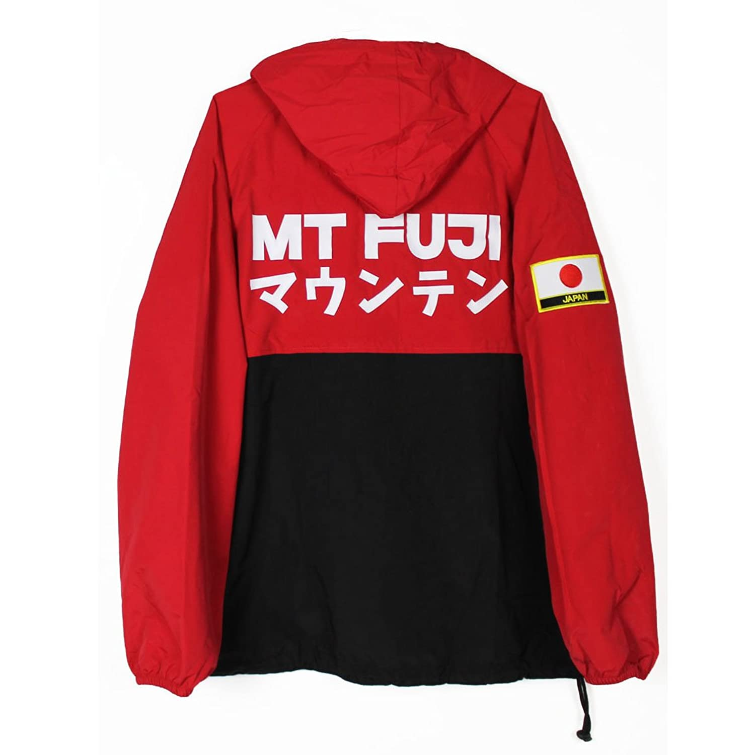 Agora Mt Fuji Pullover Jacket at Amazon Men's Clothing store: