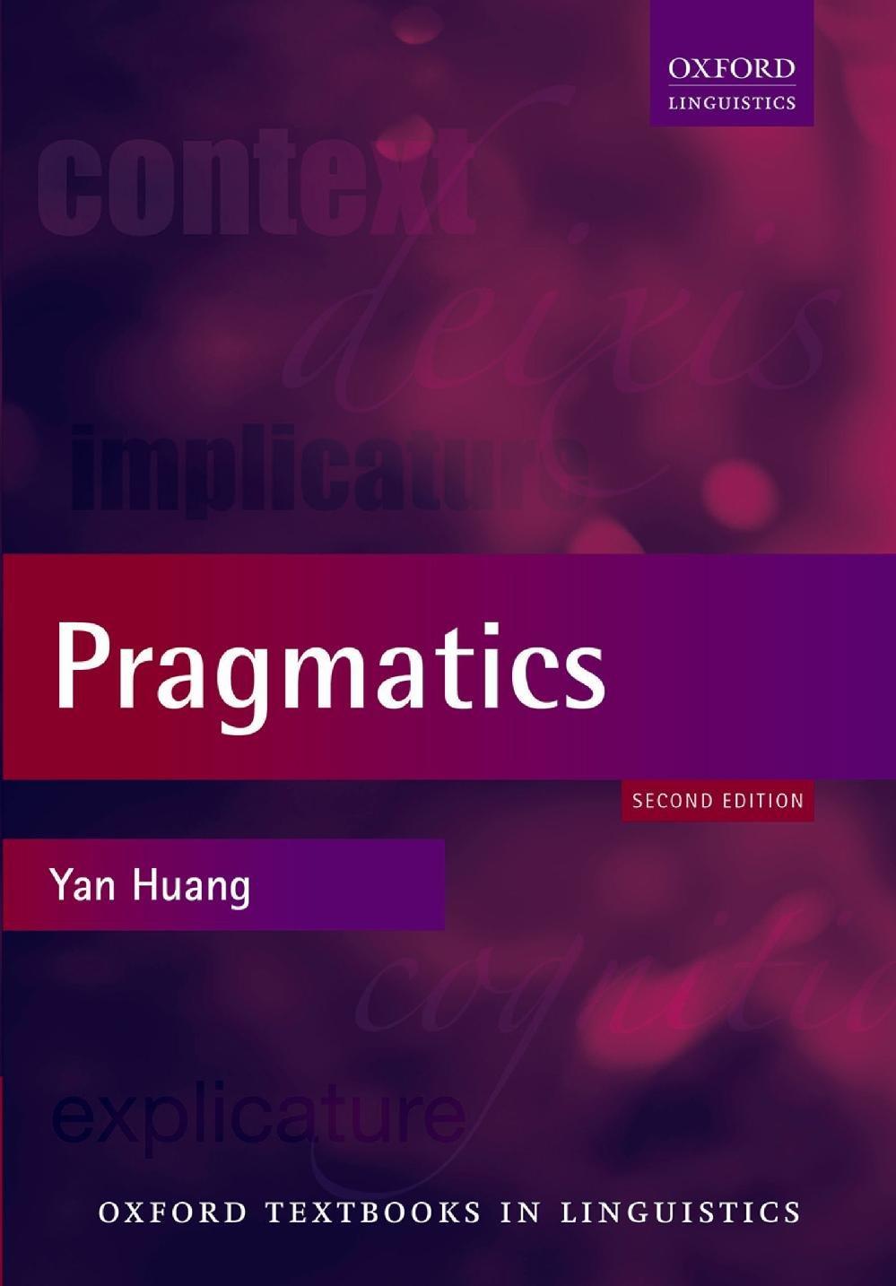 Pragmatics  Oxford Textbooks In Linguistics   English Edition