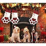 AerWo Pet Dog Christmas Stocking Hanging