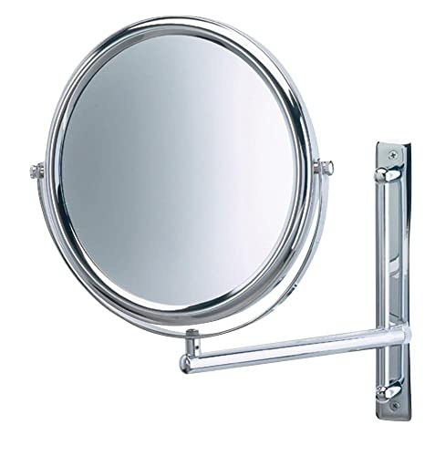 Jerdon JP3030CF 9-Inch Wall Mount Makeup Mirror with 3x Magnification, Chrome Finish