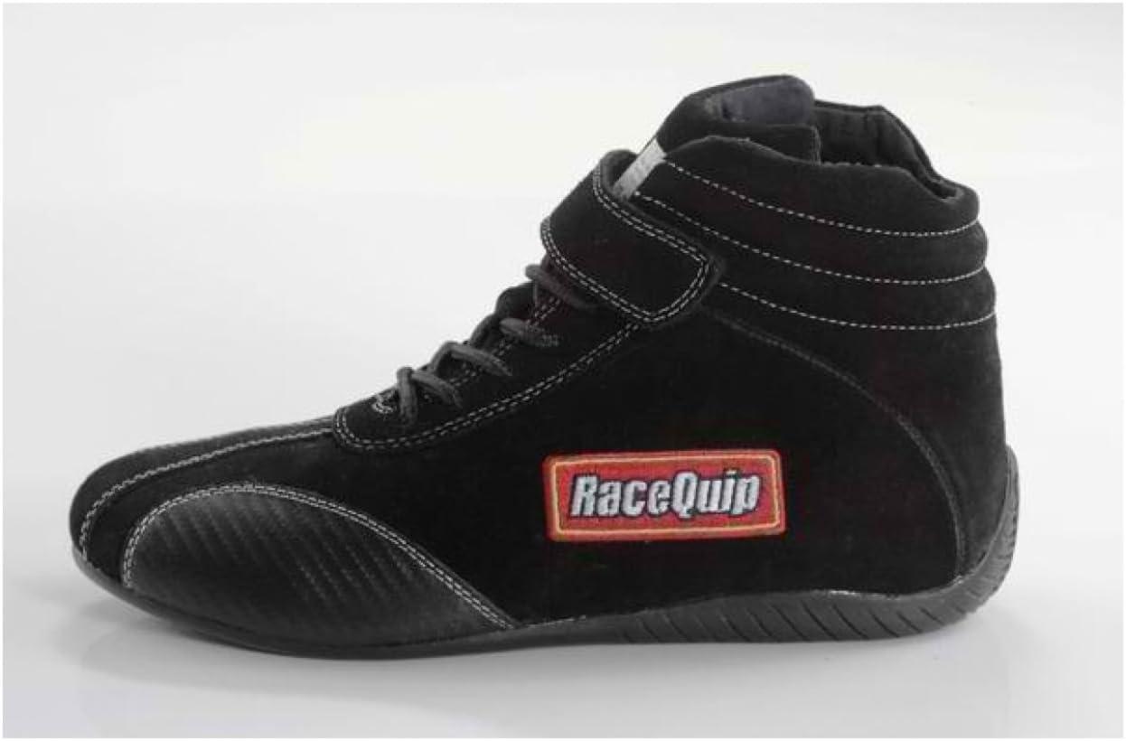 RaceQuip 30500150 Euro Carbon-L Series Size 15 Black SFI 3.3//5 Racing Shoes
