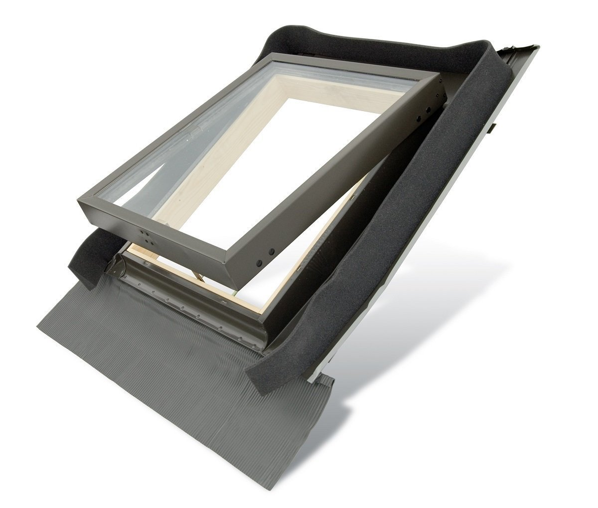 FENSTRO Skylight (45cm x 73cm) Access Roof Window with Integrated Flashing Altaterra