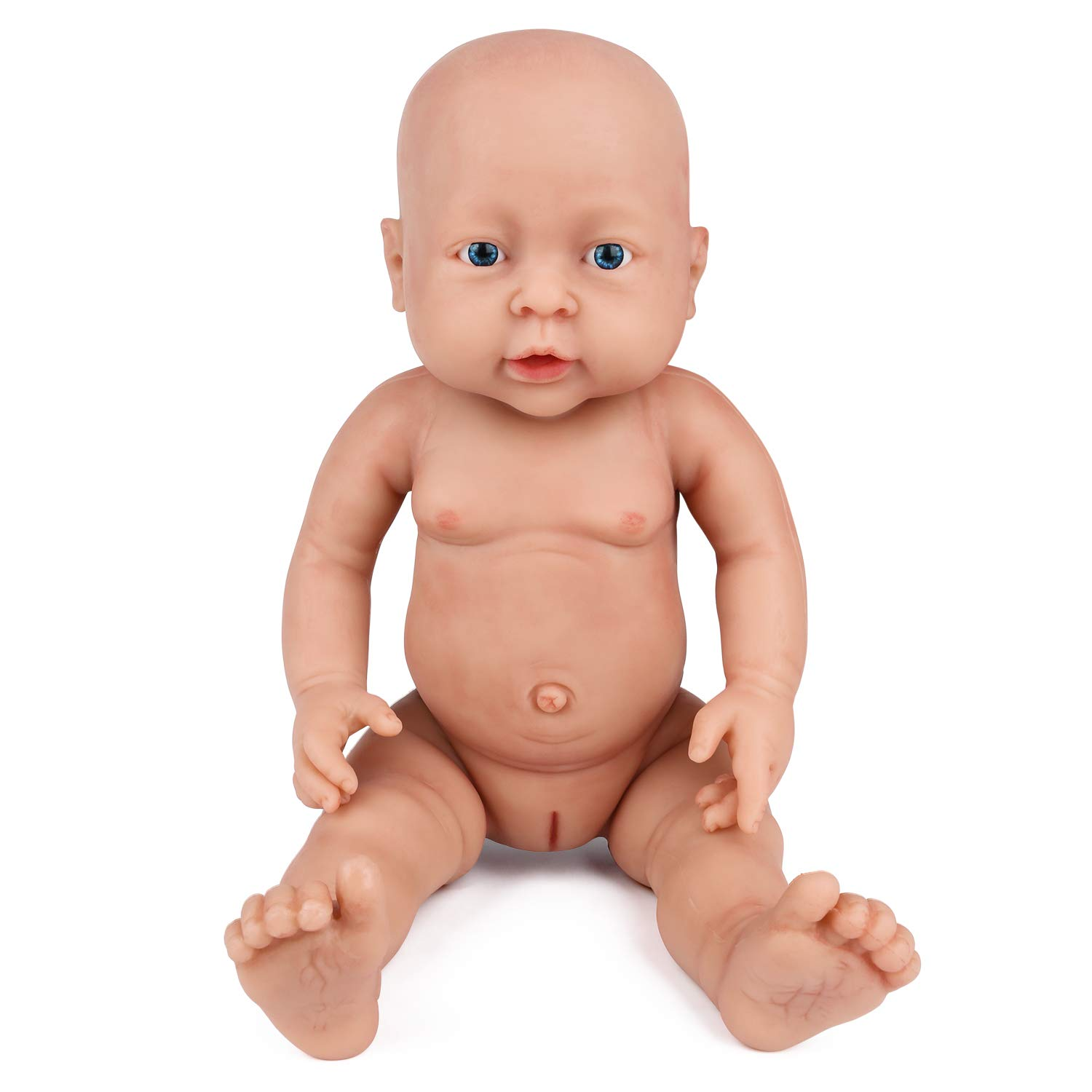 Vollence 16 Inch Realistic Reborn Baby Doll Pvc Free Solid Platinum Liquid Full Body Silicone Real Baby Dolls Handmade Lifelike Baby Doll With Clothes Girl Buy Online In Thailand At Thailand Desertcart Com Productid 66564949