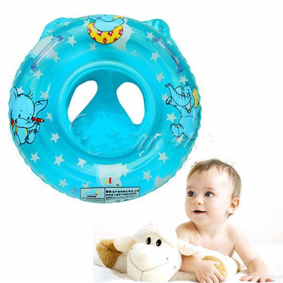 0-5 Year-Old Natación para bebés anillo flotador inflable de seguridad accesorios para Piscina Azul/Rosa: Amazon.es: Deportes y aire libre