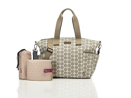Babymel Evie bolso cambiador pañales bolsa – gris floral