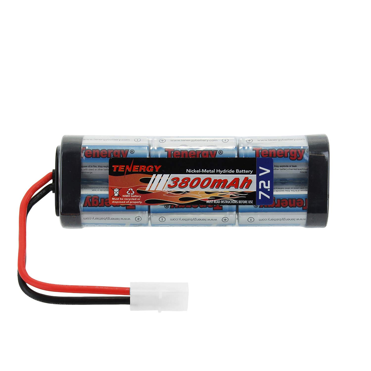Tenergy 72v Battery Pack For Rc Car High Capacity 6 How To Recycle Gold From Circuit Boards Ehow Uk Cell 3800mah Nimh Flat Replacement Hobby With Standard Tamiya