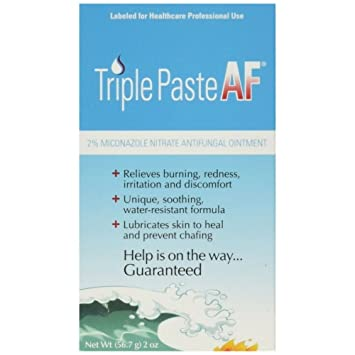 Triple Paste AF Antifungal Nitrate Medicated Ointment - Best Antifungal Cream for Skin