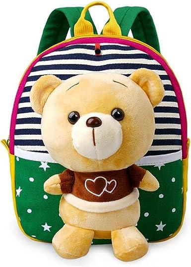 2019 Kids Boy Girl Cartoon Stuffed Toy Backpack Schoolbag Toddler Shoulder Bag